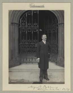 Sir Alfred Farthing Robbins, by Benjamin Stone - NPG x35037