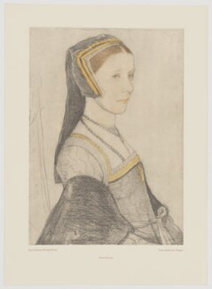 Anne More (née Cresacre), after Hans Holbein the Younger, late 20th century (1526-1527) - NPG D39144 - © reserved; collection National Portrait Gallery, London