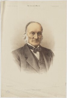 Sir Richard Owen, printed by Maclure & Macdonald, published by  The Pictorial World, after  Herbert Rose Barraud - NPG D39480