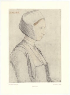 Margaret Clements (née Giggs), after Hans Holbein the Younger - NPG D39145