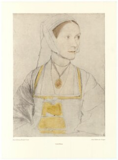 Cecily Heron (née More), after Hans Holbein the Younger - NPG D39147