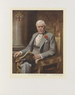 Almeric Hugh Paget, 1st Baron Queenborough, after Frank Salisbury - NPG D39148