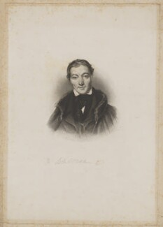 Robert Owen, by Henry Thomas Ryall, after  William Henry Brooke - NPG D39481