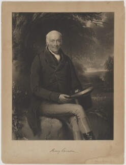 Sir Henry Oxenden, 7th Bt, by John Porter, published by  Henry Ward, after  James Godsell Middleton - NPG D39482