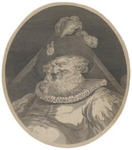 Falstaff, by William Bromley, after  James Beresford - NPG D39154