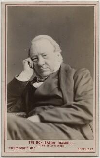 George William Wilshere Bramwell, Baron Bramwell, by London Stereoscopic & Photographic Company - NPG Ax28448