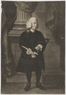 Daniel Race, by James Watson, after  Thomas Hickey - NPG D39157