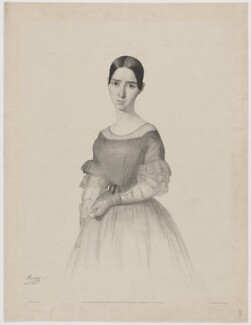 Rachael, by Firmin Salabert, printed by  Day & Haghe, published by  Henry Graves & Co - NPG D39158
