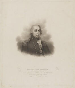 William Waldegrave, 1st Baron Radstock, by Charles Wilkin, published by  T. Cadell & W. Davies, after  Francis William Wilkin - NPG D39163