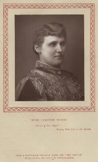 Christine Nilsson, by Kingsbury & Notcutt, published by  Strand Publishing Company - NPG x21532