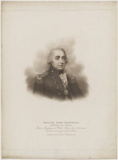 William Waldegrave, 1st Baron Radstock, by Charles Wilkin, published by  T. Cadell & W. Davies, after  Francis William Wilkin - NPG D39164