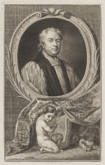 John Tillotson, by Jacobus Houbraken, after  Sir Godfrey Kneller, Bt - NPG D39614