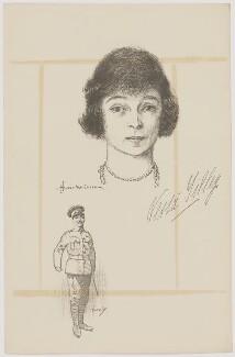 Vesta Tilley, after Howard van Dusen, and after  John Hassall - NPG D39619