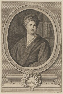 Nicholas Tindal, by George Vertue, after  George Knapton - NPG D39624