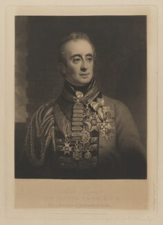 Sir Denis Pack, by and published by Charles Turner, after  George Lethbridge Saunders - NPG D39492
