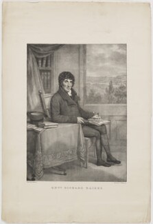 Richard Raikes, printed by Charles Joseph Hullmandel, after  Casimir Carbonnier - NPG D39180