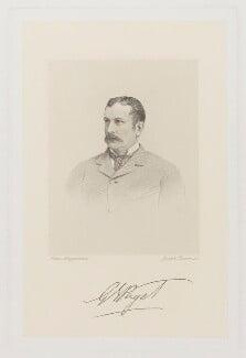 Sir George Ernest Paget, 1st Bt, by Joseph Brown, after  John Jabez Edwin Mayall - NPG D39499