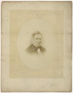 Sir James Paget, 1st Bt, by Blas Rangel - NPG x134379