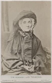 Harriette Felicité (née Seymour), Lady Doughty-Tichborne, by London Stereoscopic & Photographic Company - NPG Ax28426