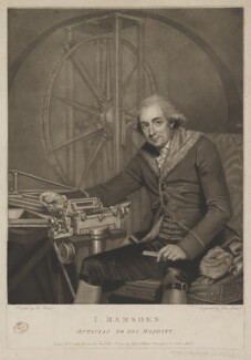 Jesse Ramsden, by John Jones, published by  Molteno, Colnaghi & Co, after  Robert Home - NPG D39195