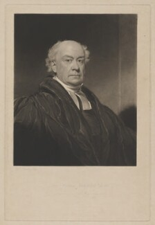 Francis Randolph, by Thomas Goff Lupton, published by  William Cribb, after  William Bradley - NPG D39198
