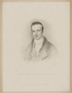 John Pern Tinney, by James Posselwhite, published by  John Bowyer Nichols, after  George Robert Lewis - NPG D39625