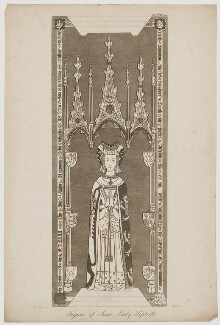 Joice (Joyce, Jocosa), Lady Tiptoft, probably by James Basire, after  Jacob Schnebbelie - NPG D39626