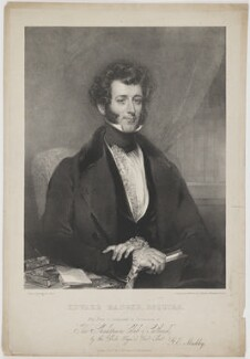 Edward Ranger, by George Edward Madeley, published by  Thomas McLean, after  John Wood - NPG D39202