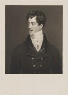 William Henry Cavendish-Bentinck, Marquess of Titchfield, by Charles Turner, after  John Harrison Jr - NPG D39629