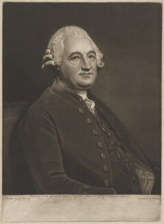 Anthony Todd, by and published by John Jones, after  George Romney - NPG D39632