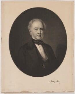 James Tod, by Alexander Scott, after  James Edgar, published April 1857 - NPG D39633 - © National Portrait Gallery, London