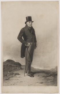 George Tollet, by Samuel William Reynolds Jr, after  Richard Ansdell - NPG D39636