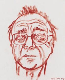 Alfred Brendel, by Tony Bevan - NPG 6907