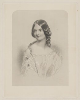 Georgiana Elizabeth Ranken (née Buckley), by T.W. Knight, after  John Hayter - NPG D39204