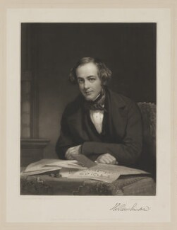 Sir Henry Creswicke Rawlinson, 1st Bt, by Samuel Cousins, published by  Paul and Dominic Colnaghi & Co, after  Henry Wyndham Phillips - NPG D39217