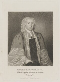 Richard Rawlinson, published by Silvester Harding - NPG D39218