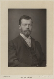 Nicholas II, Emperor of Russia, by W. & D. Downey, published by  Cassell & Company, Ltd, 1893, published 1894 - NPG x131670 - © National Portrait Gallery, London