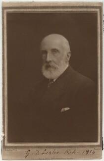 George Dunlop Leslie, by Henry Charles Spink - NPG x20018