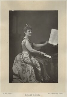 Madame Nordica (Lillian Nordica), by W. & D. Downey, published by  Cassell & Company, Ltd, published 1891 - NPG x134386 - © National Portrait Gallery, London