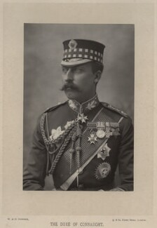 Prince Arthur, 1st Duke of Connaught and Strathearn, by W. & D. Downey, published by  Cassell & Company, Ltd - NPG x8748