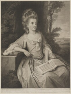 Martha Ray, by Valentine Green, after  Nathaniel Dance (later Sir Nathaniel Holland, Bt) - NPG D39222