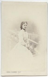 Maria Feodorovna, Empress of Russia (Princess Dagmar), by Georg Emil Hansen, 1860s - NPG x131631 - © National Portrait Gallery, London