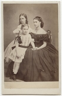 The youngest children of Christian IX, King of Denmark, by J. Petersen - NPG x131632