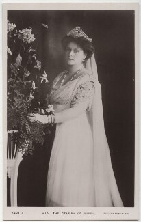 Alexandra, Empress of Russia (née Princess Alix of Hesse and by Rhine), published by Rotary Photographic Co Ltd - NPG x131648