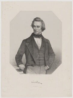 Lovell Augustus Reeve, by Thomas Herbert Maguire, printed by  M & N Hanhart, published by  George Ransome - NPG D39664