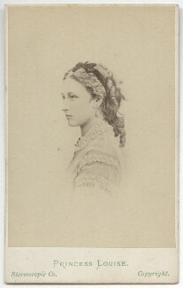 Princess Louise Caroline Alberta, Duchess of Argyll, by London Stereoscopic & Photographic Company, after  Unknown artist, after  Augustin Aimé Joseph Le Jeune - NPG x134415