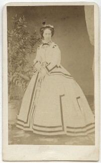 Maria Alexandrovna, Empress of Russia, by Franz Backofen - NPG x134416