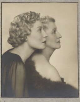 Phyllis Joan Constance Mitchell (née Shephard); Constance C. Shephard (née Evans), by Dorothy Wilding - NPG x134417