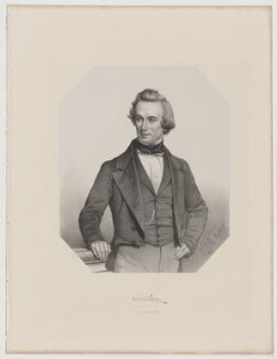 Lovell Augustus Reeve, by Thomas Herbert Maguire, printed by  M & N Hanhart, published by  George Ransome - NPG D39683