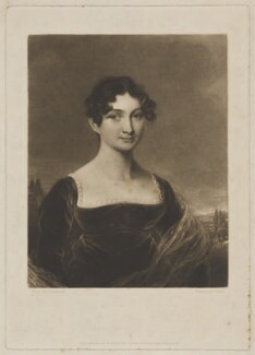 Mary Andalusia Thellusson (née Dickens), Lady Rendlesham, by and published by Charles Turner, after  George Engleheart - NPG D39686